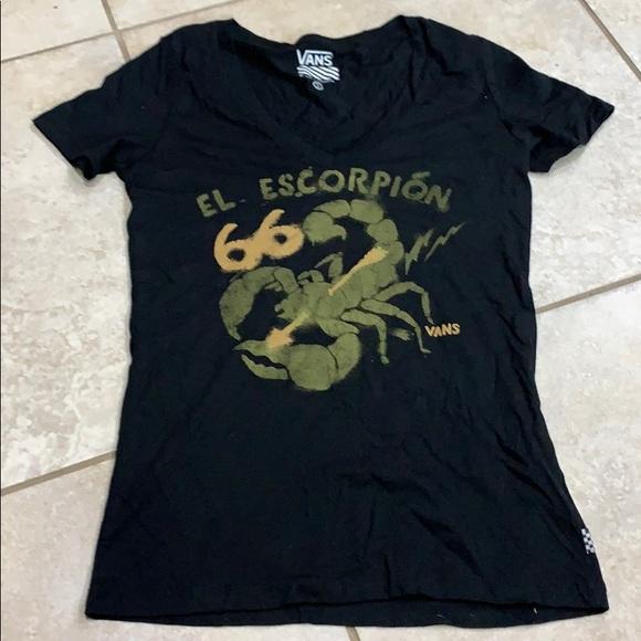5820c378 NWOT Vans El Escorpion Graphic Tee Shirt S